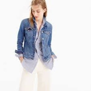 J. Crew Denim Jacket in Newton Wash